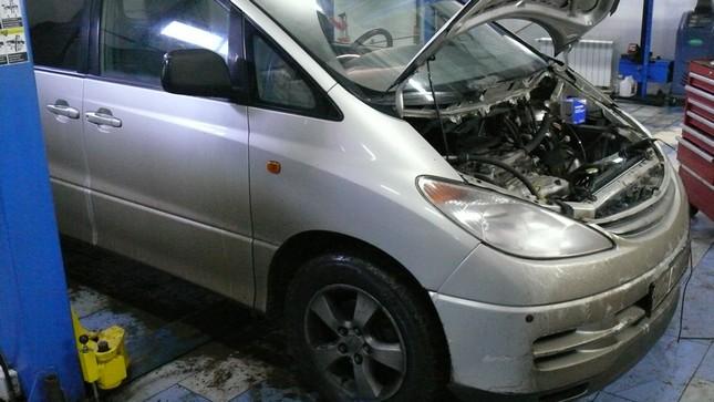 Тойота Превиа ремонт резьбы
