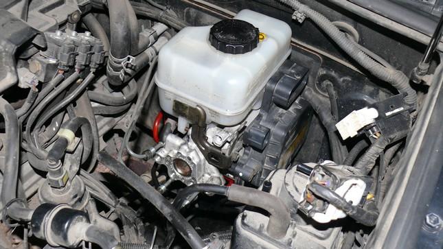 ремонт тормозного цилиндра toyota