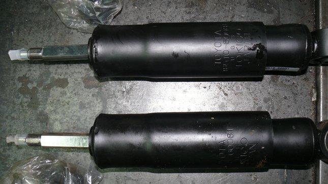 Замена амортизаторов гидра