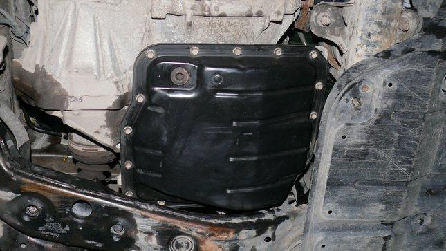 Как заменить масло в коробке автомат тойота ипсум