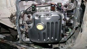 Замена масла в АКПП Тойота Камри.