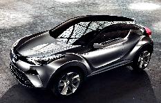 Гибридный кроссовер C-HR Toyota запустит в серию